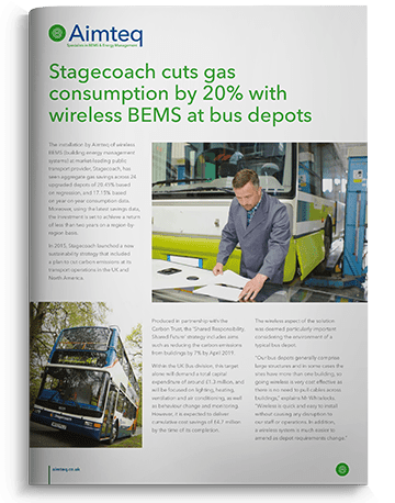 Stagecoach multi-site BMS installation saves 20% gas consumption