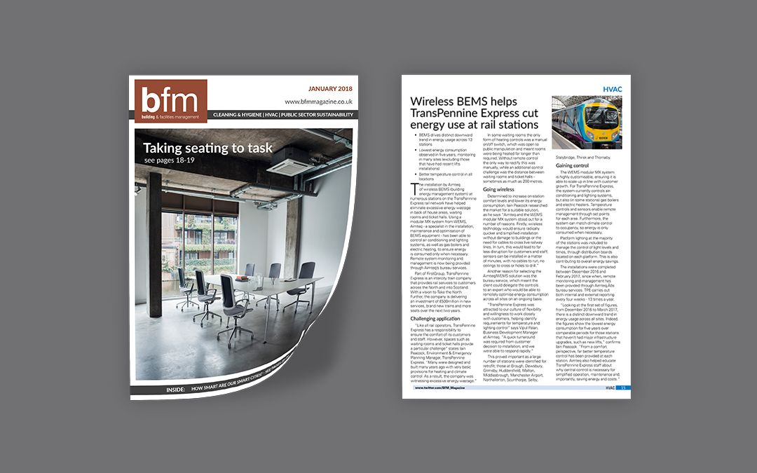 TransPennine Express Wireless BEMS – BFM Magazine