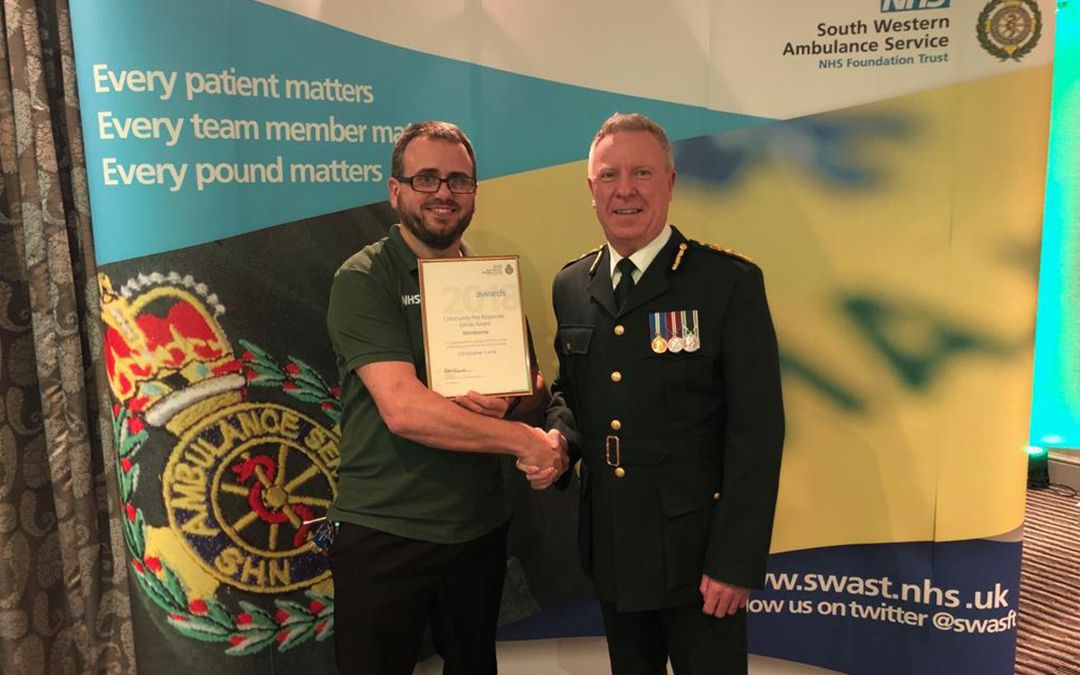Aimteq Engineer Recognised for Community First Responder Work