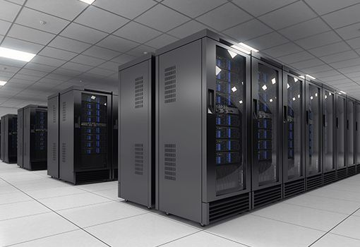 Colt data centre interior